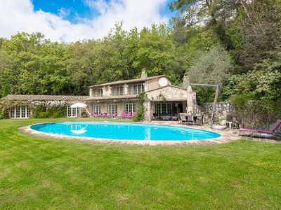 Photo for Wonderful 5 bedroom family house, recently renovated with pool and stunning view