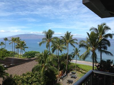 Photo for Located On Beautiful Kaanapali beach!