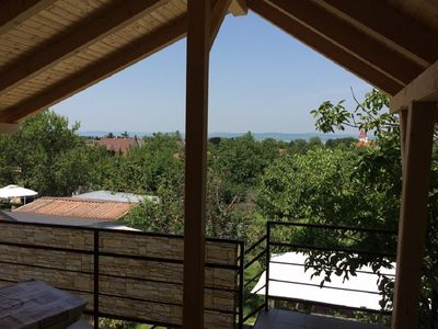 Photo for Cottage with two separate units at Lake Balaton