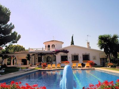 Photo for San Pedro De Alcantara: house / villa - 8 rooms - 8/9 persons with a large poolHouse with garden