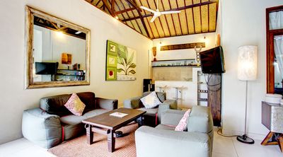 Photo for A funky, inviting jewel of a pool villa set in tropical gardens in Seminyak