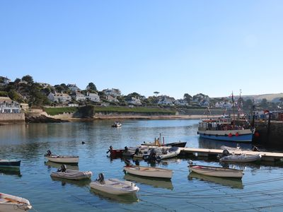 Photo for PIER COTTAGE, pet friendly, with a garden in St Mawes, Ref 976458