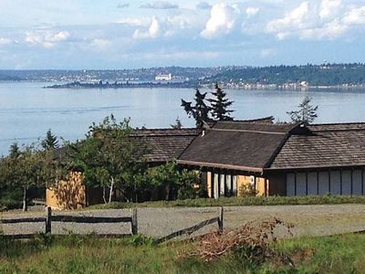 Photo for Panaramic View Of Ferries, Puget Sound, Seattle City Views, Cascade & Olympics