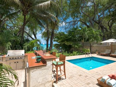 Photo for LATITUDE VILLA BARBADOS - Luxury 4 Bedroom Beach Front Villa Located on Gibbs Beach