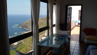 Photo for APARTMENT WITH TERRACE AND EXCEPTIONAL SEA VIEWS