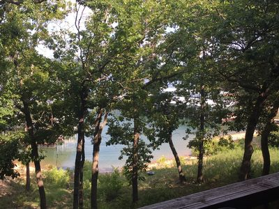 Photo for Lake Front Deluxe 2-Bdrm 50 Feet from Table Rock Lake!