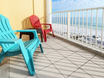 Photo for Direct Ocean View, 6th Floor, Okaloosa Isl, Near Destin, Beach Svc Incl  - gd607