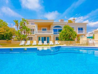 Photo for Calpe Villa, Sleeps 12 with Pool, Air Con and WiFi