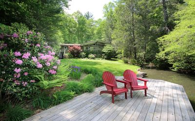 Photo for Peace and Seclusion - Be Happy at Happy Bear Cove in Beautiful Lake Toxaway.