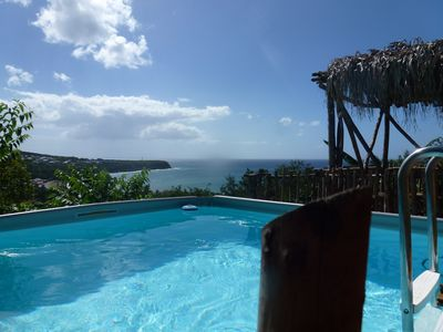 Photo for The KREYOL LODGES presents its SUITE KAYOU ... view sea and mountain