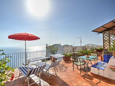 Photo for Casa dei Cappuccini A: A charming apartment which faces the sun and the sea, with Free WI-FI.