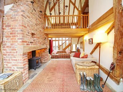 Photo for Masketts Barn  -  a cottage that sleeps 9 guests  in 4 bedrooms