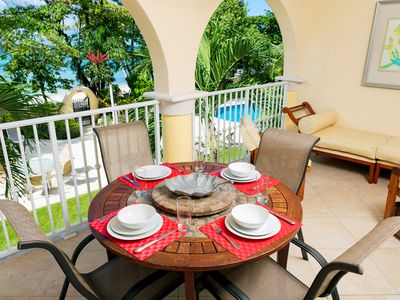 Photo for Sapphire Beach 109 - Step onto the Pooldeck