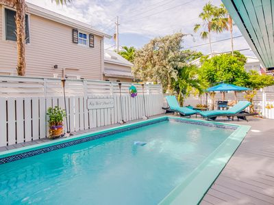 Photo for Dog-friendly home w/ large private pool only a short walk to Historic Seaport!