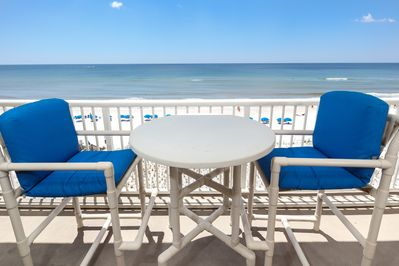 Kick Back and enjoy the views! - Relax and Enjoy! There is seating for 6 available on the balcony.