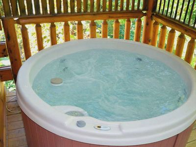 Photo for Bear Naked w/Private Indoor Pool- Hottub- WiFi- Pool Table-3 miles to the Parkway * * FREE TICKETS
