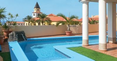 Photo for Beautiful 3 Bedroom Villa. Private Heated Pool. Air Conditioning. Playa Paraiso