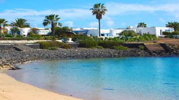 Playa de las Conchas, Lanzarote, Canary Islands, Spain