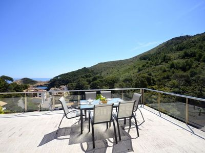 Photo for Semidetached with swimming pool in Begur, Sa Tuna