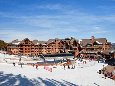 Photo for Ski In-Out Grand Lodge on Peak 7 New Years Jan 2nd-5th. Master unit sleeps 4.