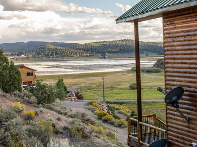 Photo for Panguitch Lakehome New cabin with Awesome view 4 bedroom 3 bath cabin sleep 11