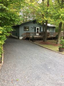 3 bedroom, 2 bath on private wooden lot
