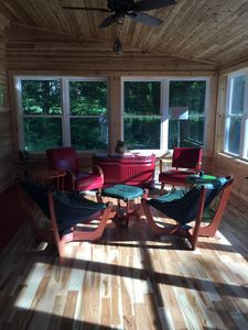 Four season porch/heated.