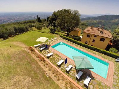 Photo for Villa Valdinievole, located in the Tuscan countryside, with 5 bedrooms, 12 sleeps.