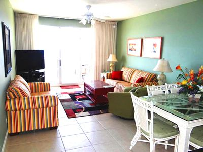 Photo for Platinum Furnishings-WiFi-Pier Park-Free BeachService-Gulf Front Master-Sleeps 8