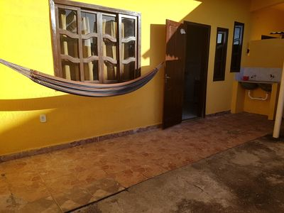 Photo for Rent furnished kitnet with garage / yard in Barra de São João