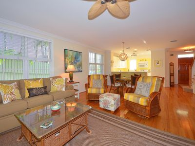 Photo for Beautiful, dog-friendly home w/ private pool & patio - in Old Town, near beach!