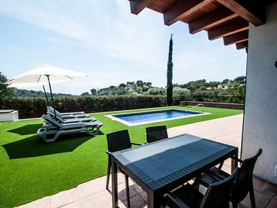 Photo for Vacation Villas Pinares, 8 people, Private Pool, Wifi,