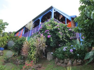 Photo for 2BR Villa Vacation Rental in Deshaies, Guadeloupe