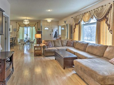 Photo for Beautiful 6BR Home Near Airport & Mall of America!