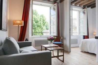Apt. COSY2 - Latin Quarter - Paris - Bedroom1 is accessible from the living room