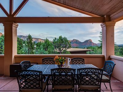 Photo for Luxury 5 Bdrm Home with Spectacular Sunrise & Sunset Views, Private Hot Tub - Sleeps 10