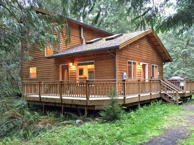 Photo for Cabin #64 Newer 2 bedroom cabin that is pet friendly with WiFi