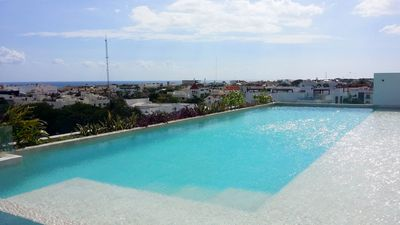 Photo for Fabulous 2 bedroom penthouse, sea view Condo