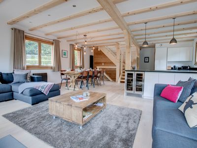 Photo for New Luxury Self Catered Chalet With Hot Tub, Beautifully Designed and Spacious