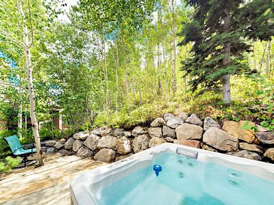 Photo for 3-Story Townhouse Blocks from Deer Valley – Private Master Suite & Hot Tub