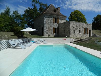 Photo for Gite with private pool for 6 people in a privileged site