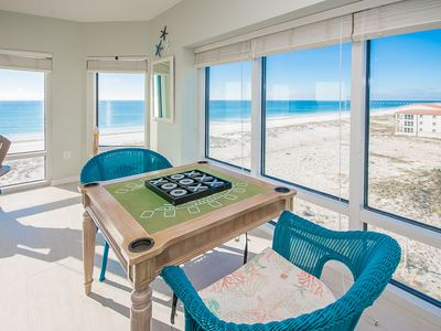 Photo for Best Gulf Front Views * Free Beach Chairs * Open Floorplan
