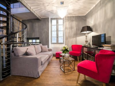 Photo for Exceptional 2 bd apartment in Sarlat, sleeps 4 - wifi & washer/dryer