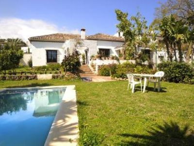 Photo for Elegant villa  with private pool two minutes  from the beach
