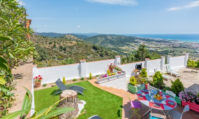 Photo for COSTA BRAVA - APPT 5 PERSONS WITH SEA AND MOUNTAIN VIEW