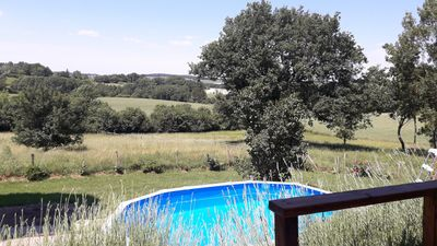 Photo for lovely family run holiday home in the country side over looking the vines