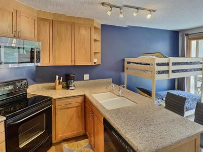 Photo for Ski-In Ski-Out Studio with Desirable Amenities at Iron Horse Resort