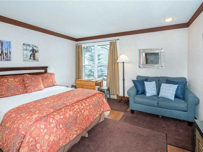 Photo for Updated Hotel Room With Kitchenette at Mountainside Inn