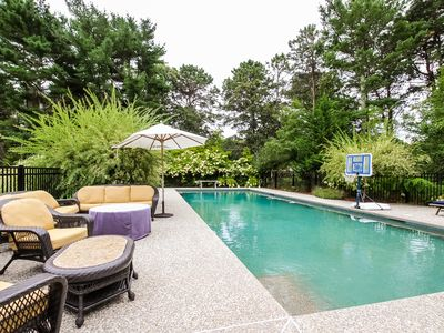 Photo for Family Pool Home in Serene Setting [ New to rental market ]