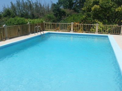 Photo for Beau Jardin is relaxing, private, secure with own pool